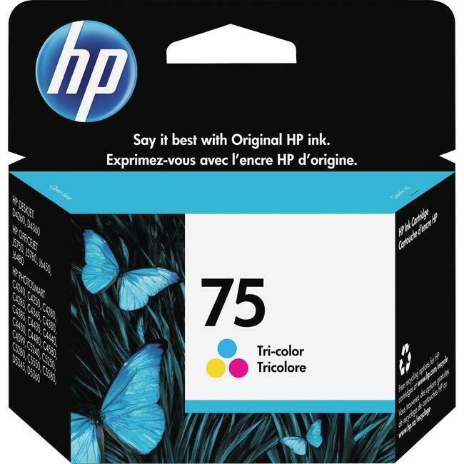 Hp 75 Tri-Colour