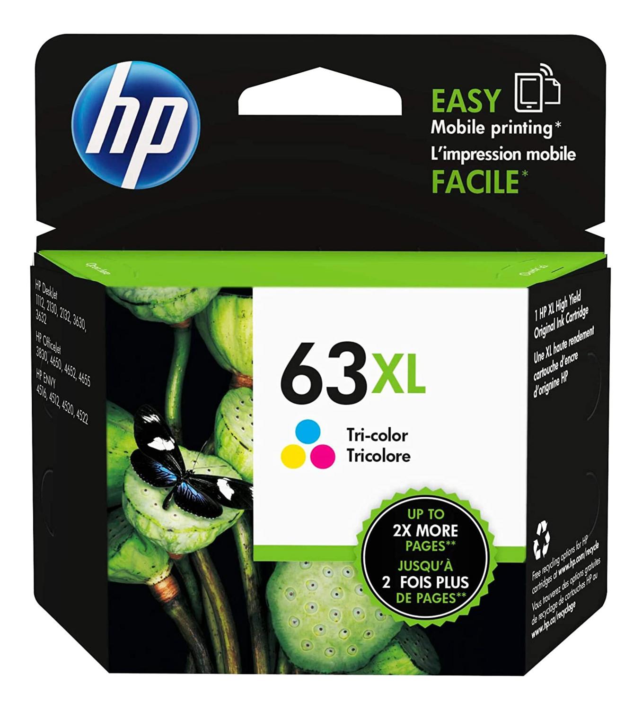 Hp 63Xl Tri-Colour