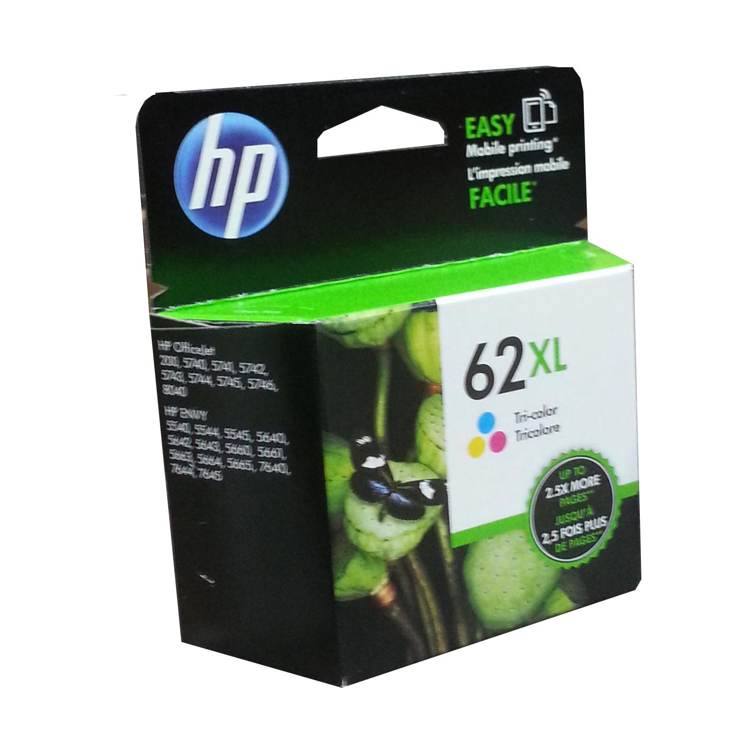 Hp 62 Xl Tri-Colour