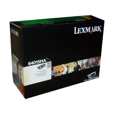 Lexmark Toner 64015Ha Black