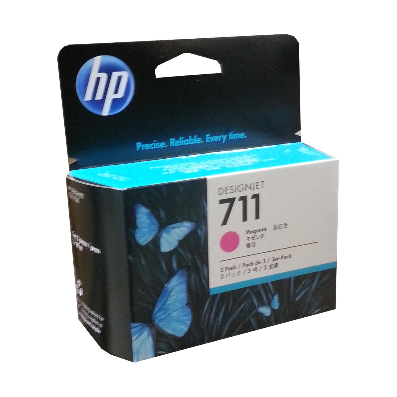 Hp 711 Magenta 3 Pack
