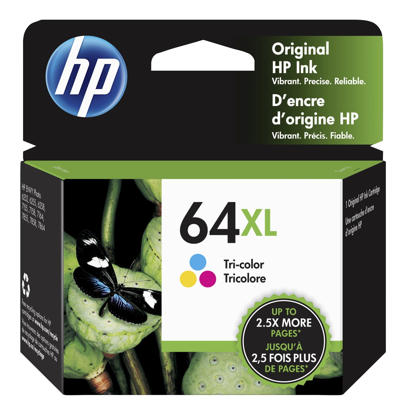 Hp 64Xl Tricolour Ink