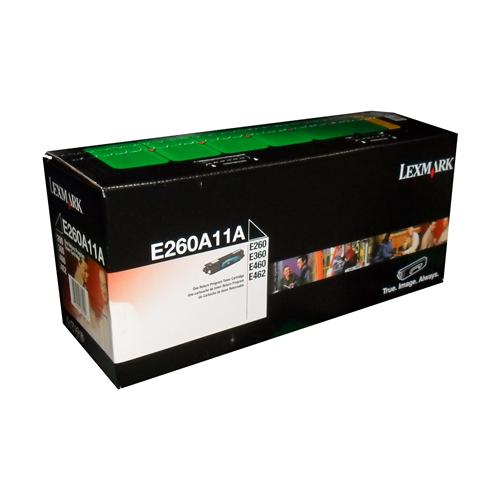 Lexmark Toner E260A11A Black
