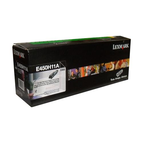 Lexmark Toner E450H11A Black