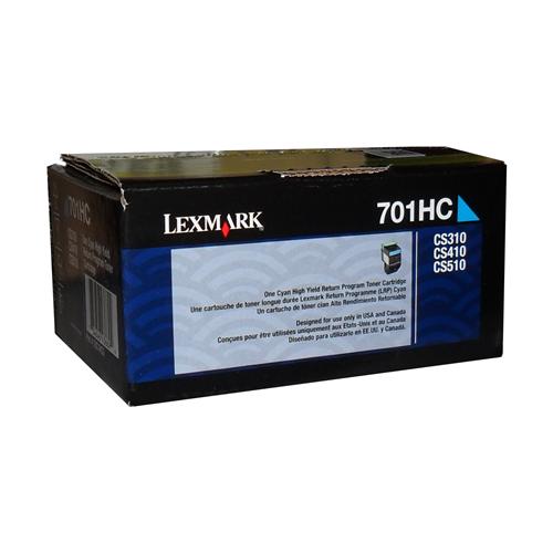 Lexmark Toner 701Hc Cyan