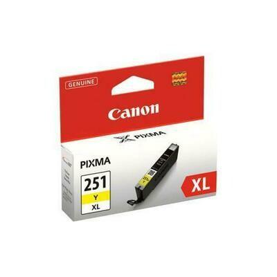Canon 251Xl Yellow