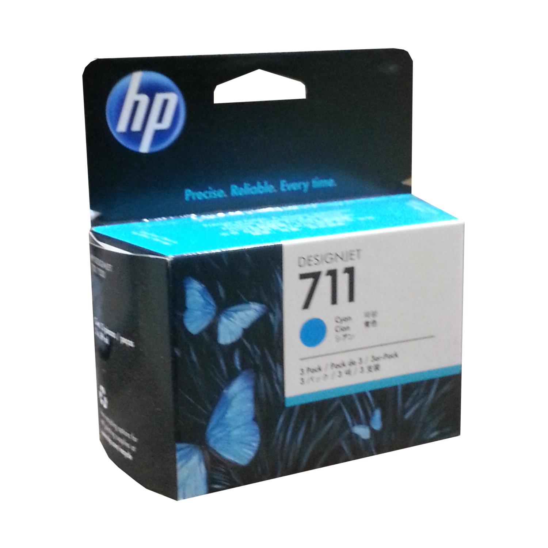 Hp 711 Cyan 3 Pack