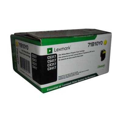 Lexmark Toner 71B10Y0 Yellow