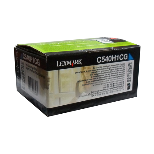Lexmark Toner C540H1Cg Cyan