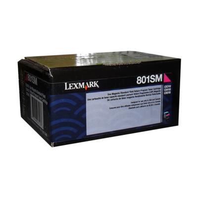 Lexmark Toner 80C1Sm0 Magenta