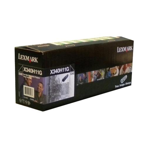 Lexmark Toner X340H11G Black