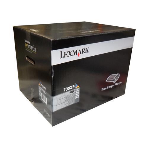 Lexmark Imaging Kit 70C0Z50 Black + Clear