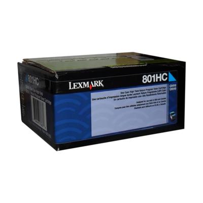 Lexmark Toner 80C1Hc0 Cyan