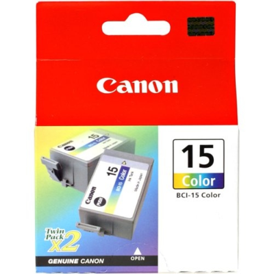 Canon Bci-15 Colour Twin Pack