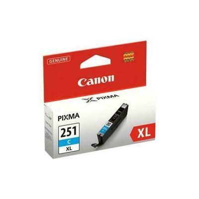 Canon 251Xl Cyan