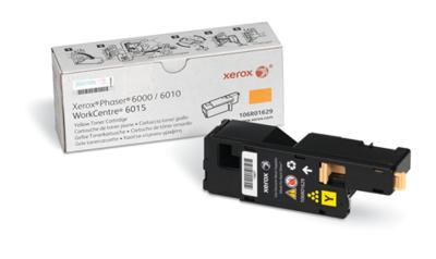 Toner Xerox 106R01629 Yellow Phaser 6000/6010 Workcentre 6015