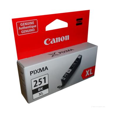Canon 251Xl Black