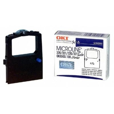 Ribbon Cartridge Microline Okidata Ml100 Black Okidata Ml100 Series/Ml310/Ml320/320T, 320T/D, 321T, 321T/D
