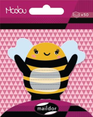 Adhesive Notepad Honey Bee