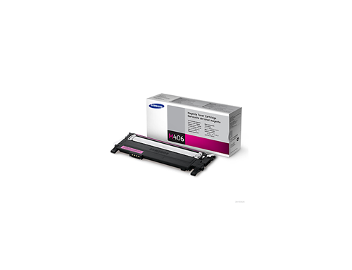 Samsung Toner Clt-M406S Magenta Magenta