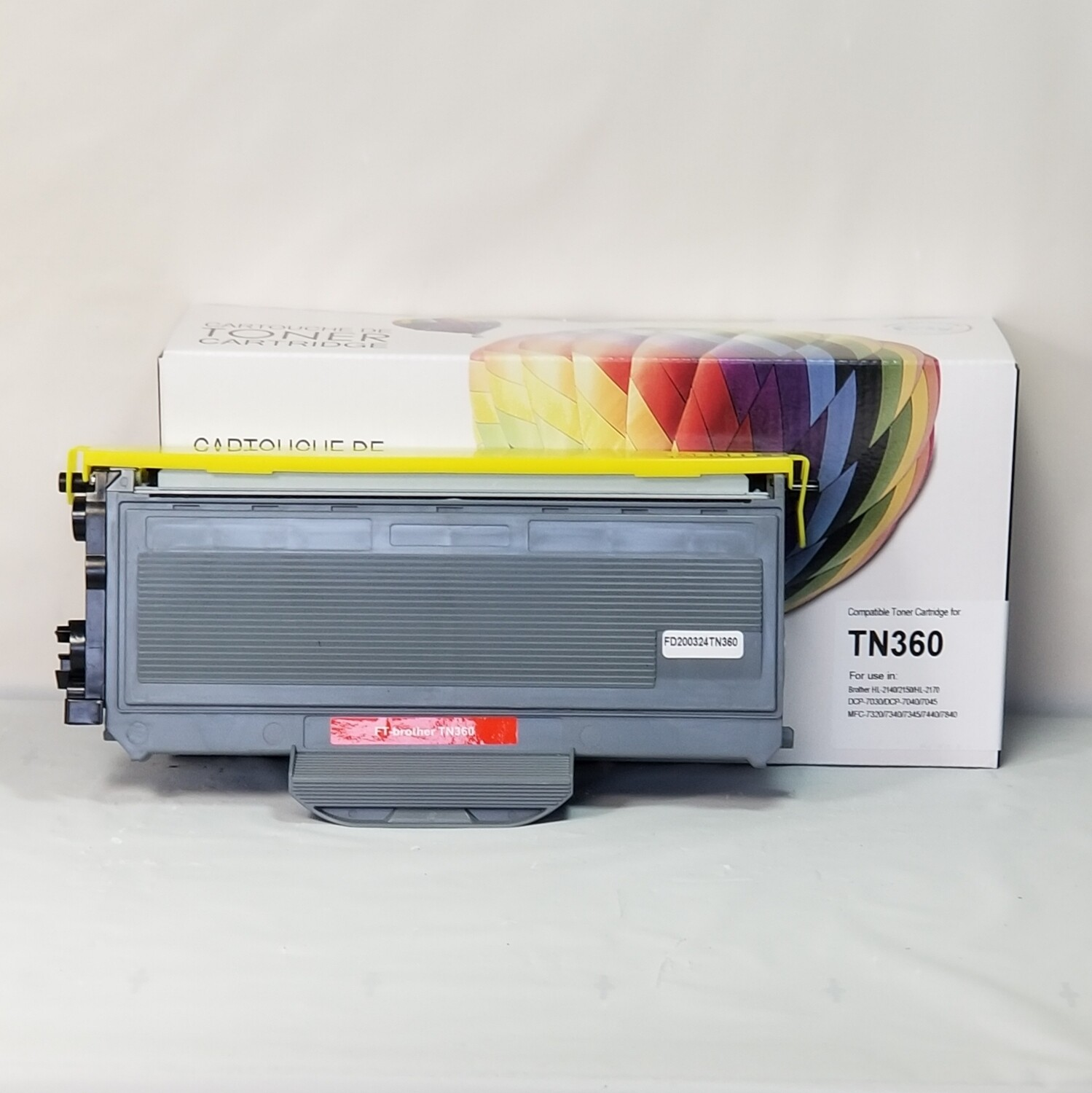 Brother Toner Compatible Tn 360 Black High Yield
