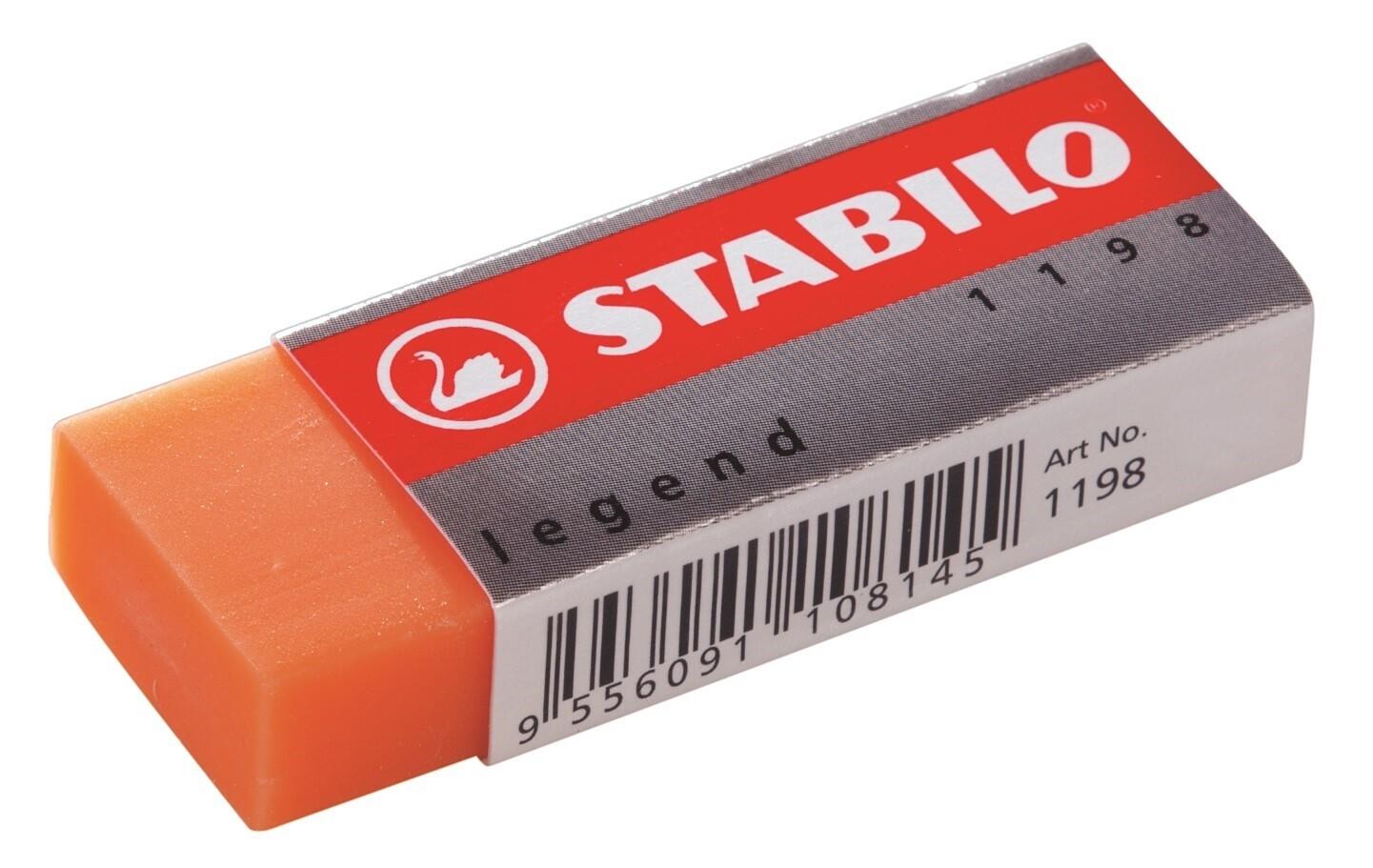 Eraser, Legend Assorted Colours, Single