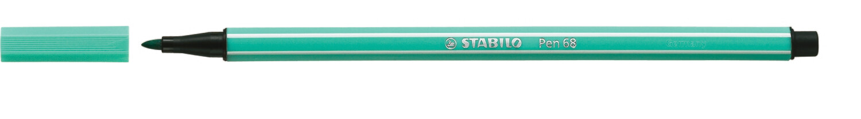 Pen, 68, Bullet Tip Turquoise, 1 Mm, Single