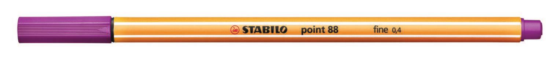 Pen, Fineliner, Point 88  Lilac, 0.4 Mm, Single