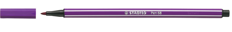 Pen, 68, Bullet Tip Lilac, 1 Mm, Single