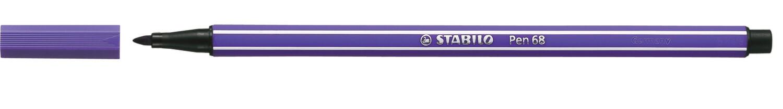 Pen, 68, Bullet Tip Purple, 1 Mm, Single