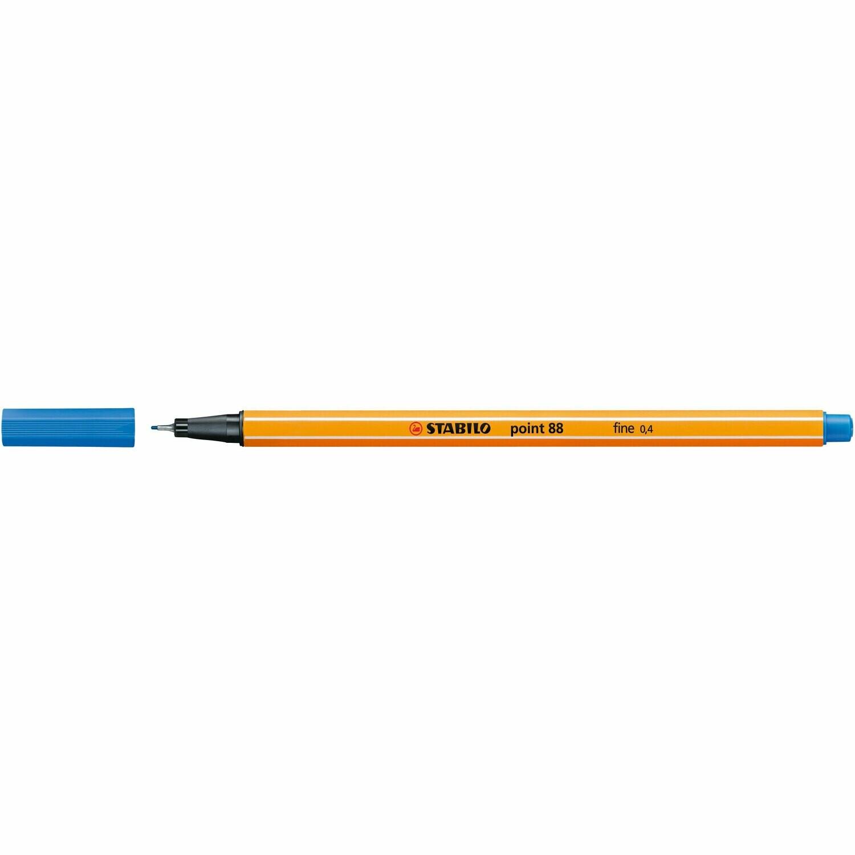 Pen, Fineliner, Point 88  Ultramarine, 0.4 Mm, Single