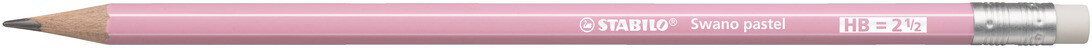 Pencil, HB, Swano Pastel Pink, Box of 12