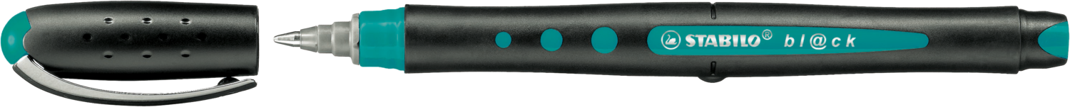 Pen, Rollerball, Bl@Ck Turquoise, 0.5 Mm, Single