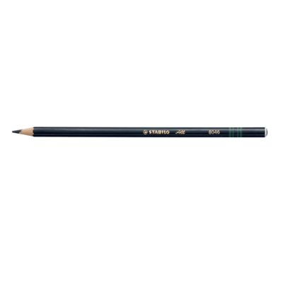 Pencil, Most Surfaces, All Black, Box of 12