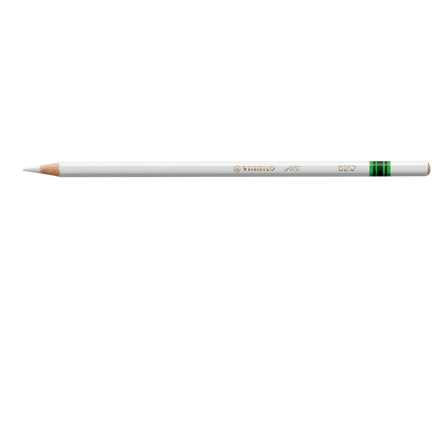 Pencil, Most Surfaces, All White, Single