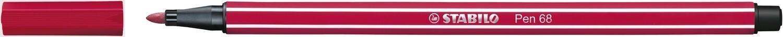 Pen, 68, Bullet Tip Crimson, 1 Mm, Single