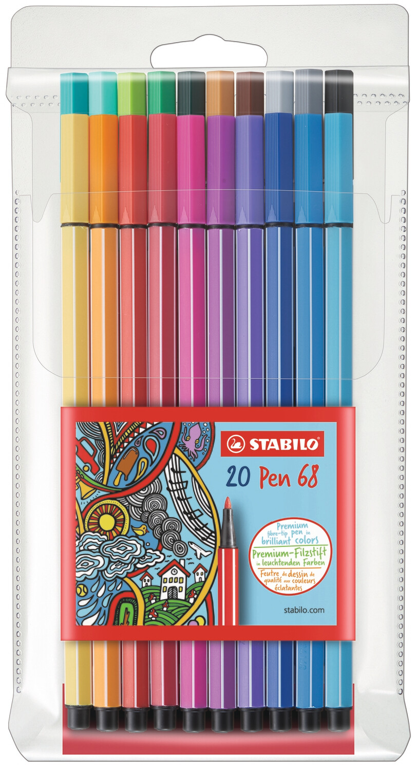 Marker, Power Max, Washable Assorted 12 Pack, 3 Mm