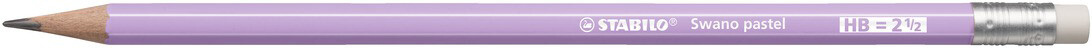 Pencil, HB, Swano Pastel Lilac, Box of 12