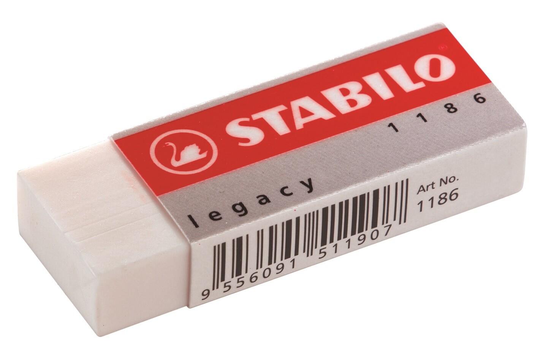 Eraser, Legacy White, Single