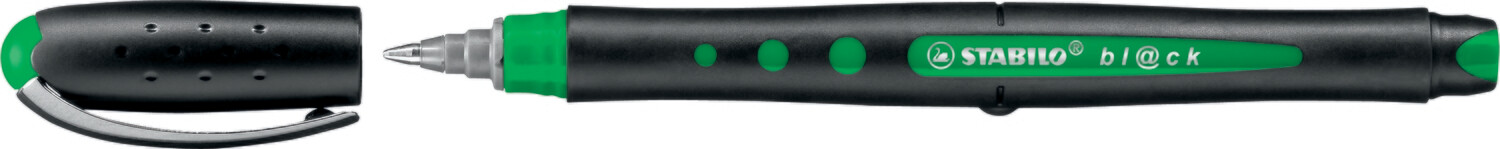 Pen, Rollerball, Bl@Ck Green, 0.5 Mm, Single