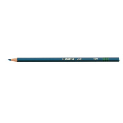 Pencil, Most Surfaces, All Blue, Box of 12