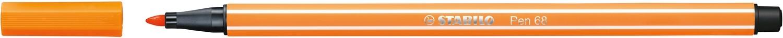 Pen, 68, Bullet Tip Orange, 1 Mm, Single