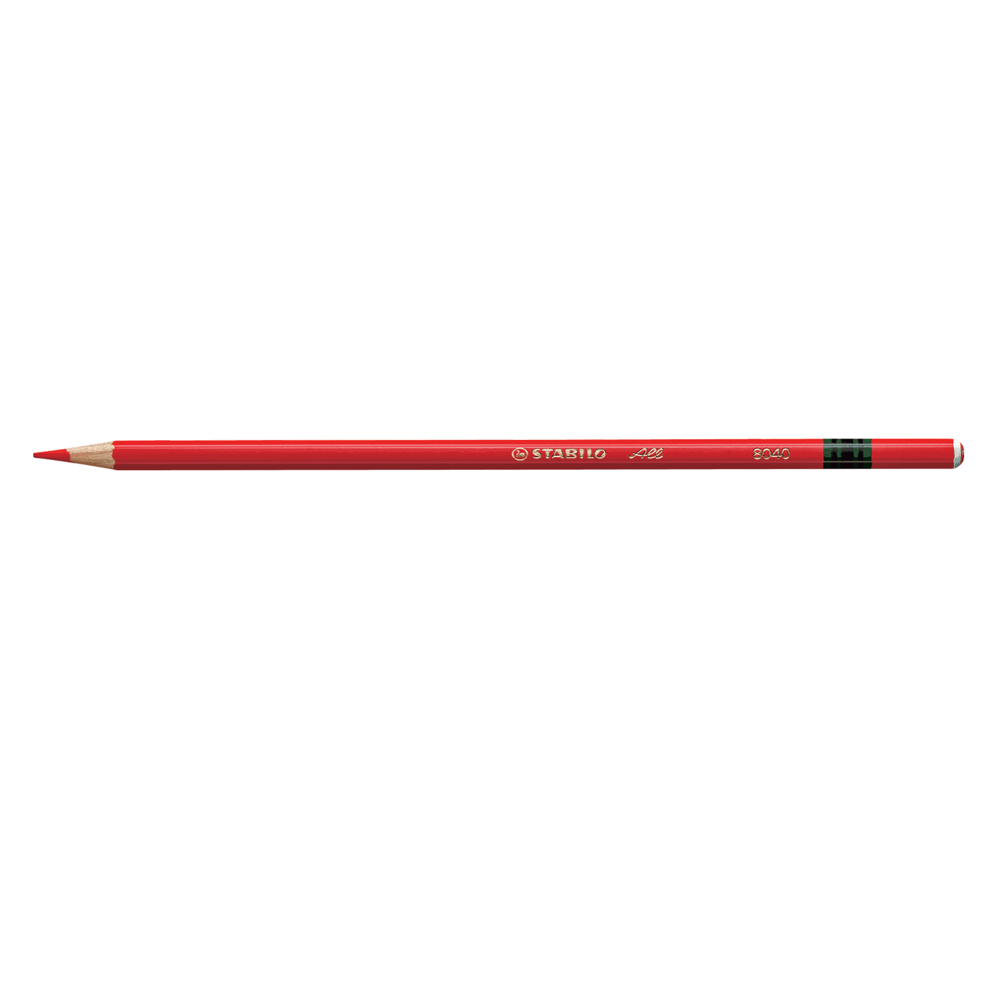 Pencil, Most Surfaces, All Red, Single