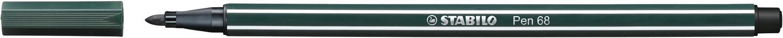 Pen, 68, Bullet Tip Olive Green, 1 Mm, Single