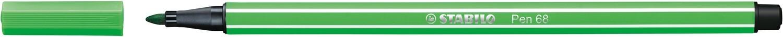Pen, 68, Bullet Tip Leaf Green, 1 Mm, Single