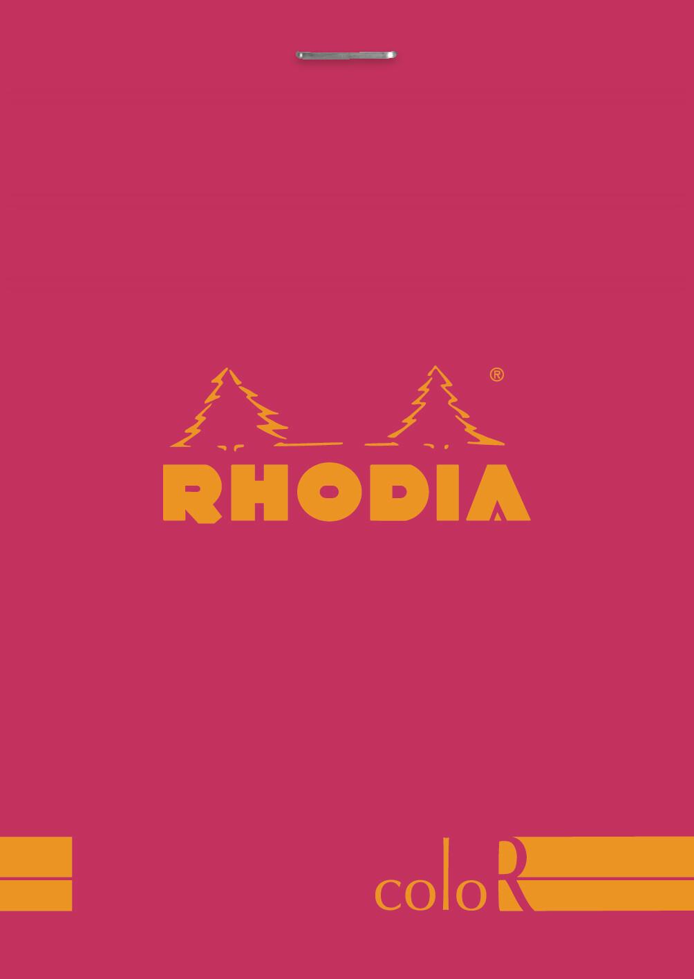 Notebook, Rhodia Colour Raspberry