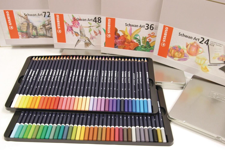 Pencil, Schwan Art Assorted 72 Pack