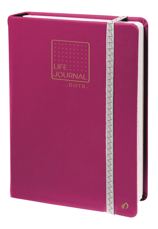 """Notebook, Dots Life Journal Prune, 6"""" x 8.25"""""""