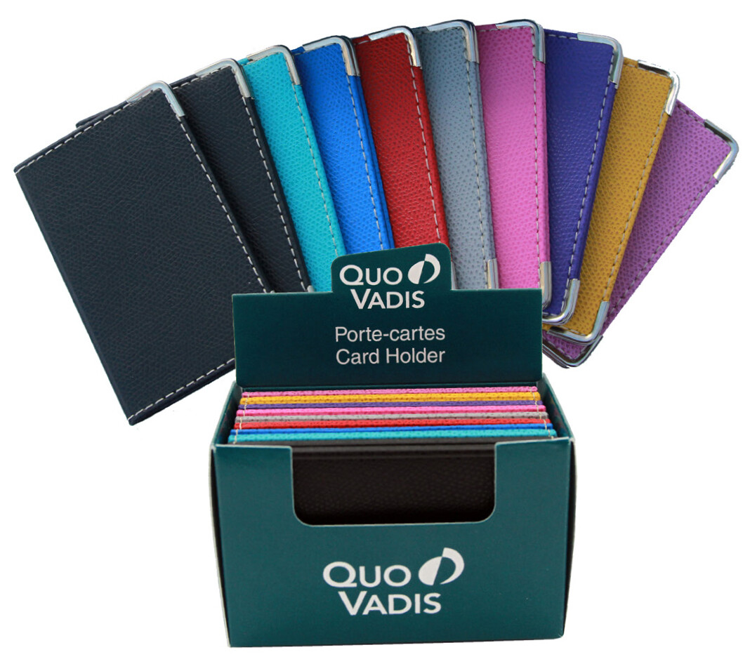 Business Card Holder Assorted Colours, Single