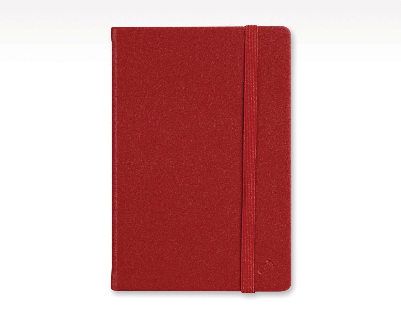 "Notebook, Blank, Habana  Blank Red, 6.25"" x 9.5"""